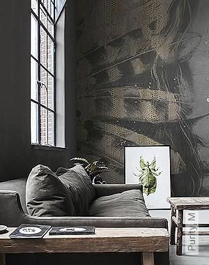 Preis:590,00 EUR - Kollektion(en): - Braun - NEUE Tapeten - Tapeten in Grau - FotoTapete - EN15102/EN13501.B-s1 d0 - Gerader Ansatz - Wohnzimmer