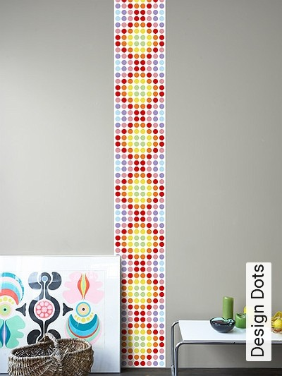 Bild: Tapeten - Design Dots