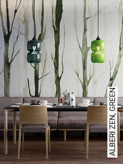 ALBERI-ZEN,-GREEN-Gras-Florale-Muster-FotoTapeten-Grün-Weiß