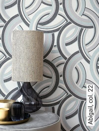 Abigail,-col.-22-Kreise-Grafische-Muster-Art-Deco-Gold-Grau-Anthrazit-Weiß-Hellblau