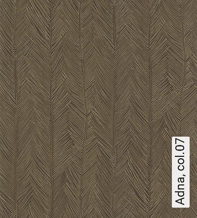 Adna,-col.07-Blätter-Florale-Muster-Braun-Hellgrün