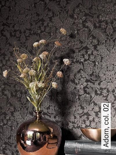 Adorn,-col.-02-Ornamente-Klassische-Muster-Gold-Schwarz