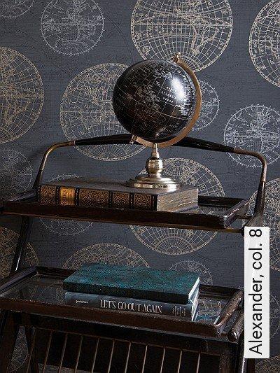 Alexander,-col.-8-Welt-Moderne-Muster-Gold-Silber-Anthrazit