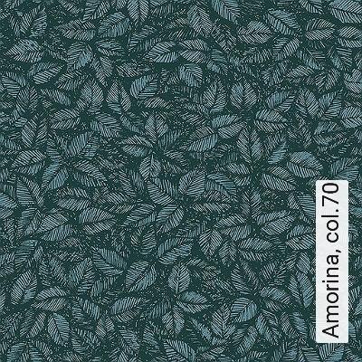 Amorina,-col.70-Blätter-Florale-Muster-Grün-Schwarz