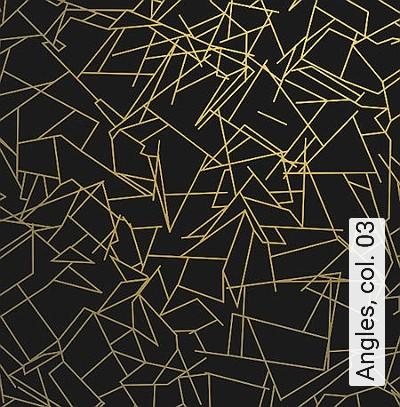 Angles,-col.-03-Ornamente-Grafische-Muster-Gold-Schwarz