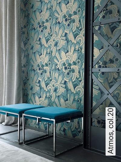 Atmos,-col.20-20-50er-Art-Deco-1920er-Jahre-Grün