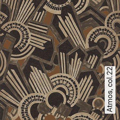 Atmos,-col.22-20-50er-Art-Deco-1920er-Jahre-Schwarz