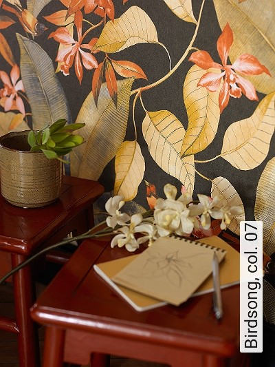 Birdsong,-col.-07-Blumen-Tiere-Blätter-Vögel-Fauna-Florale-Muster-Multicolor
