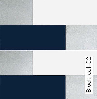 Block,-col.-02-Streifen-Grafische-Muster-Bauhaus-Blau-Silber-Weiß