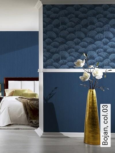 Bojan,-col.03-Blätter-Textil-&-NaturTapeten-Blau-Hellblau