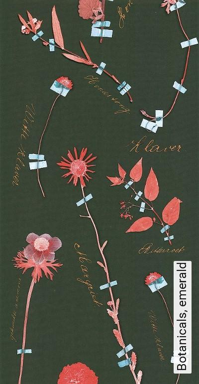 Botanicals,-emerald-Blumen-Blätter-Florale-Muster-Rot-Grün-mint