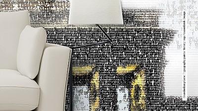 Brandenburg-Gate-|-Typography-paints-History|-Ingo-Krasenbrink-Design-FotoTapeten