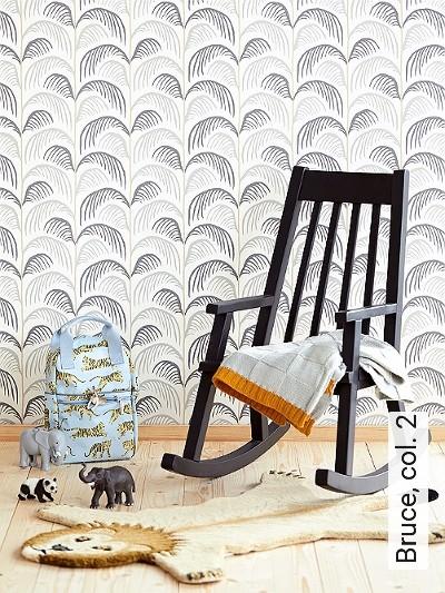 Bruce,-col.-2-Bäume-Blätter-Florale-Muster-KinderTapeten-Grau-Braun-Weiß