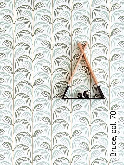 Bruce,-col.-70-Bäume-Blätter-Florale-Muster-KinderTapeten-Grün-Braun-Weiß