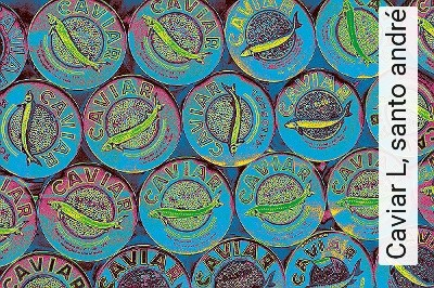 Caviar-L,-santo-andré-Ornamente-Kunst-Moderne-Muster-FotoTapeten-Multicolor