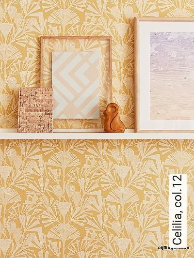 Celilia,-col.12-20-50er-Art-Deco-Art-Deco-1920er-Jahre-Gelb