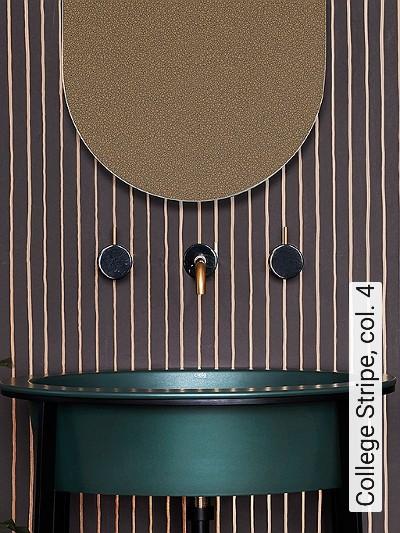 College-Stripe,-col.-4-Streifen-Klassische-Muster-Braun-Bronze