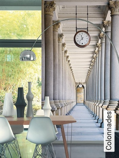 Colonnades-Gebäude-3D-Tapeten-tromp-l