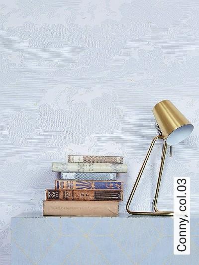Conny,-col.03-Vögel-Wolken-Zeichnungen-Moderne-Muster