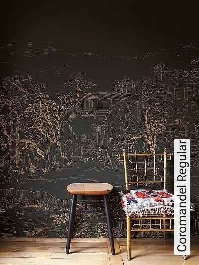 Coromandel-Regular-Landschaft-Moderne-Muster-FotoTapeten-Braun-Anthrazit