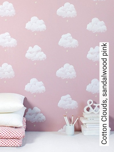 Cotton-Clouds,-sandalwood-pink-Wolken-KinderTapeten