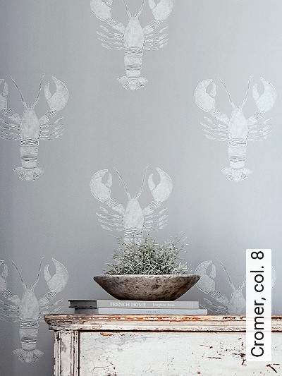 Cromer,-col.-8-Tiere-Fauna-Silber-Grau