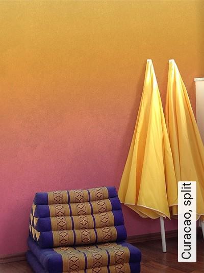Curacao,-split-Wolken-Farbverlauf-Moderne-Muster-FotoTapeten
