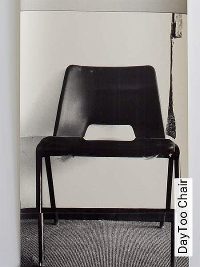 DayToo-Chair-Stuhl-Moderne-Muster-Grau-Schwarz-Creme