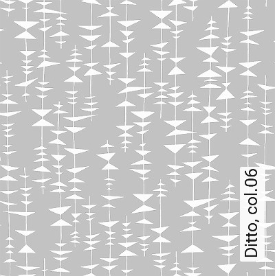 Ditto,-col.06-Dreiecke-Moderne-Muster-Grau-Weiß