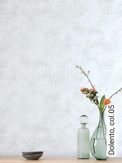 Dolento,-col.05-Blätter-Struktur-Florale-Muster-Grau-Weiß