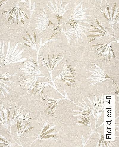 Eldrid,-col.-40-Blumen-Blätter-Florale-Muster-Gold-Weiß-Creme