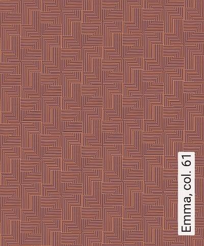 Emma,-col.-61-Linie-Grafische-Muster-Art-Deco-Gold-weinrot