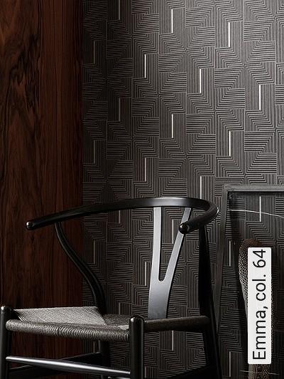 Emma,-col.-64-Linie-Grafische-Muster-Art-Deco-Silber-Anthrazit-Schwarz