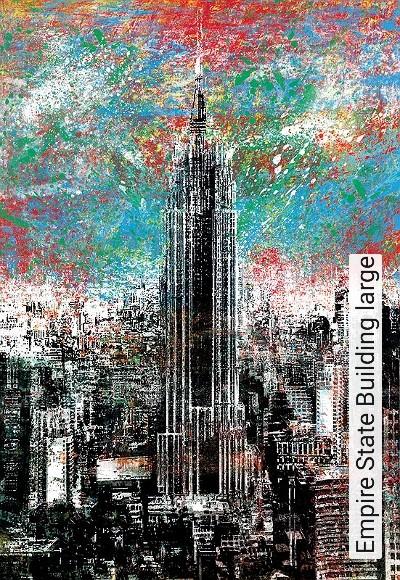 Empire-State-Building-large-Gebäude-Moderne-Muster-Multicolor