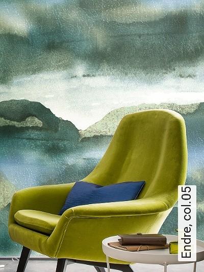 Endre,-col.05-Wolken-Leder-Struktur-Farbverlauf-FotoTapeten-Grün-Hellgrün-Creme