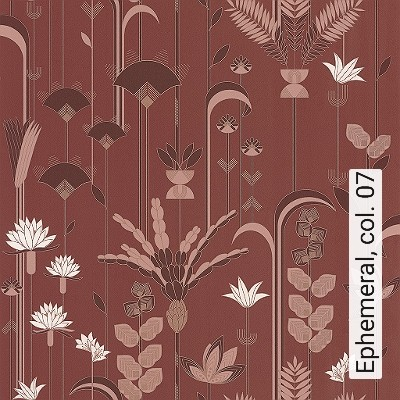 Ephemeral,-col.-07-Blumen-Art-Deco-Gold-Braun-Weiß