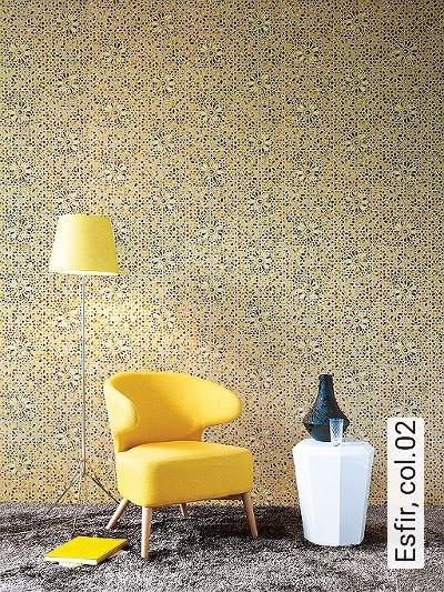 Esfir,-col.02-Ornamente-Orientalisch-Orientalisch-Gold-Türkis-Ocker