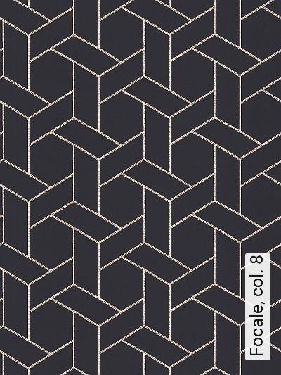 Focale,-col.-8-Graphisch-Grafische-Muster-Anthrazit-Weiß
