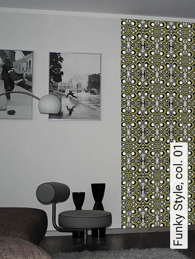 Funky Style, Col. 01 Kreise Moderne Muster
