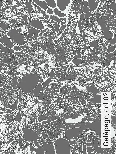 Galápago,-col.02-Tierhaut-Moderne-Muster-Grau-Weiß