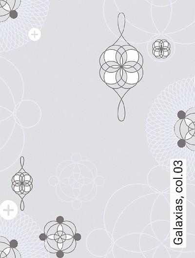 Galaxias,-col.03-Kreise-Retro-Muster-Silber-Grau-Creme