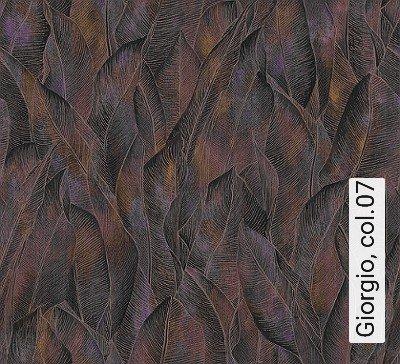 Giorgio,-col.07-Blätter-Florale-Muster-Blau-Braun