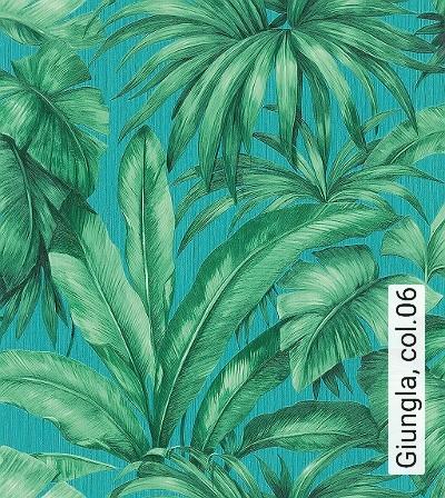 Giungla,-col.06-Blätter-Florale-Muster-Grün-Creme-petrol