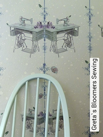 Greta`s-Bloomers-Sewing-Tiere-Punkte-Gegenstände-Moderne-Muster-Blau-Grau-Türkis-Weiß-mint