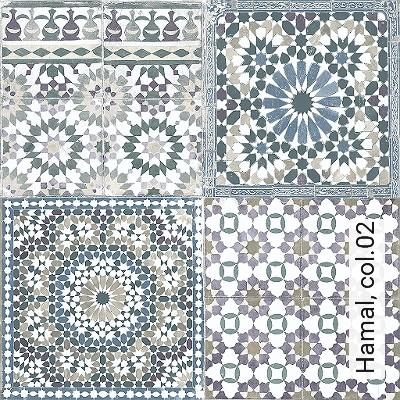 Hamal,-col.02-Kachel-Orientalisch-Orientalisch-Grün-Creme-Flieder-Hellbraun