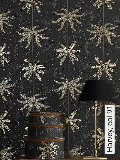 Harvey,-col.91-Tiere-Bäume-Sterne-Klassische-Muster