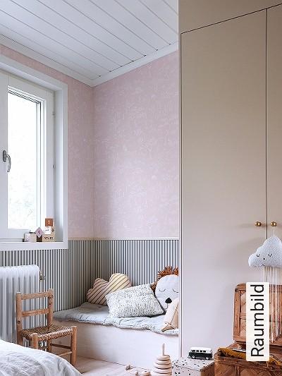 Hollie,-col.-04-Blumen-Tiere-Bäume-Blätter-Fauna-Florale-Muster-KinderTapeten-Rosa-Weiß