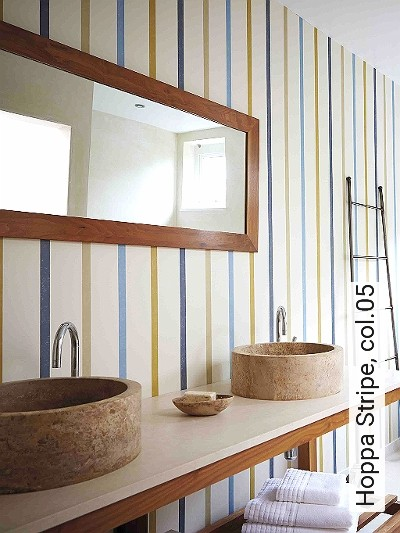 Hoppa-Stripe,-col.05-Streifen-Moderne-Muster-Blau-Weiß-Ocker-Hellblau