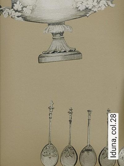 Iduna,-col.28-Gegenstände-Klassische-Muster-Gold