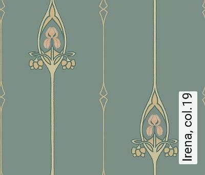 Irena,-col.19-Jugendstil-Klassische-Muster-Jugendstil-Grün